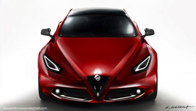 "Alfa Romeo Giulia e Fiat Punto 2014 – Design ""Made in USA"""