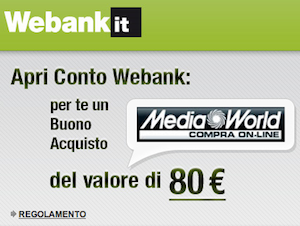 Promozione Webank
