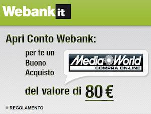 Promozione Webank