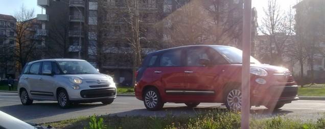 Fiat 500L+ 7 posti Spy 03