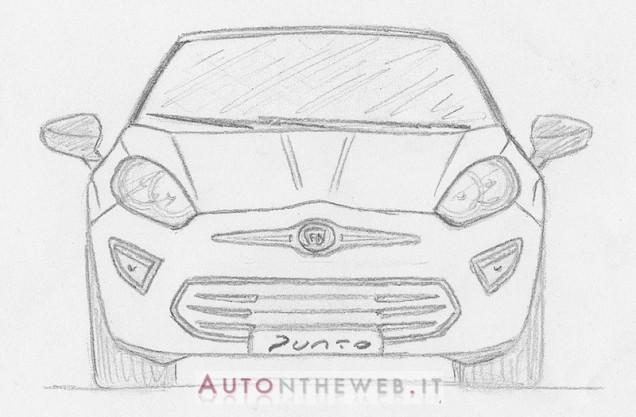 Fiat Punto 2014 front-1