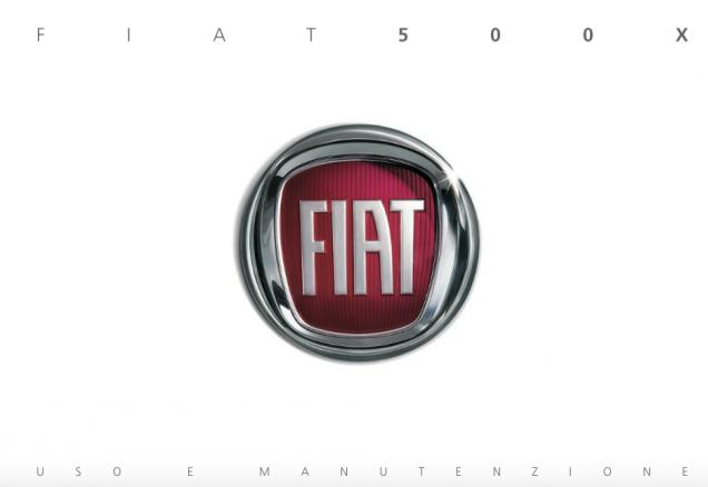 Libretto Fiat 500X 2015