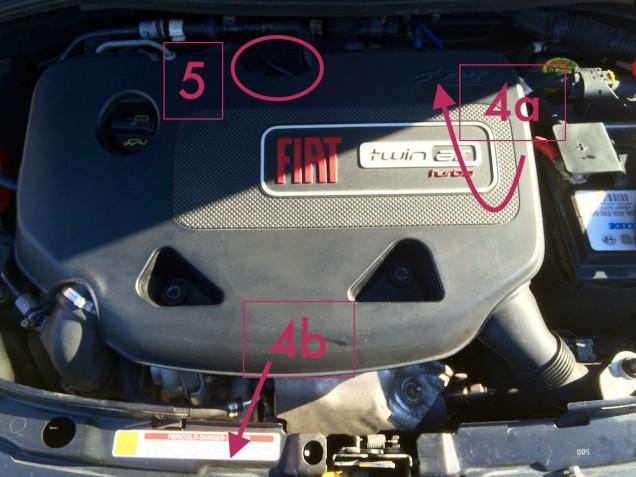Sostituzione filtro aria 500 0.9 TwinAir 04