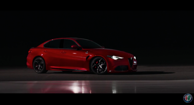 Spot TV Alfa Romeo Giulia 2015